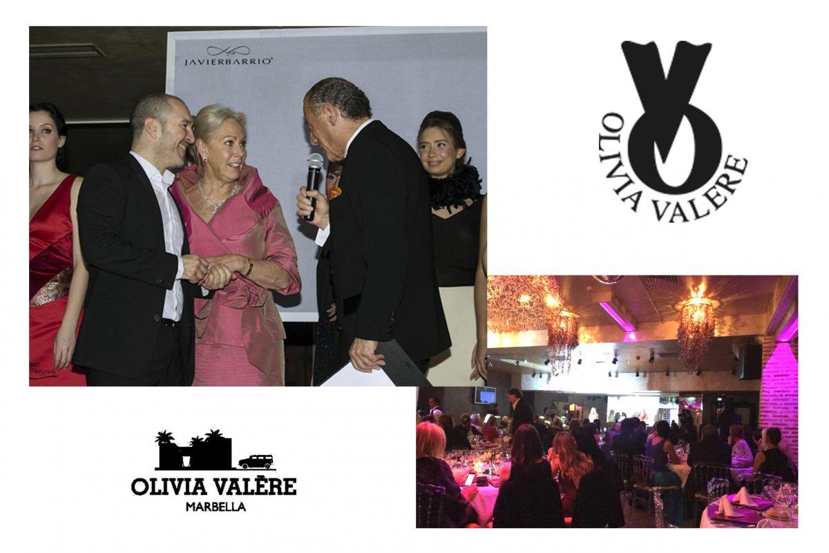 Javier barrio en la Gala de los Óscar de Olivia Valere y Babilonio, en Marbella