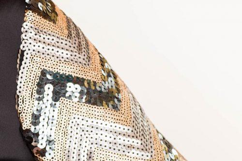 IMG 0087 2 500x333 - Vestido corto satén negro