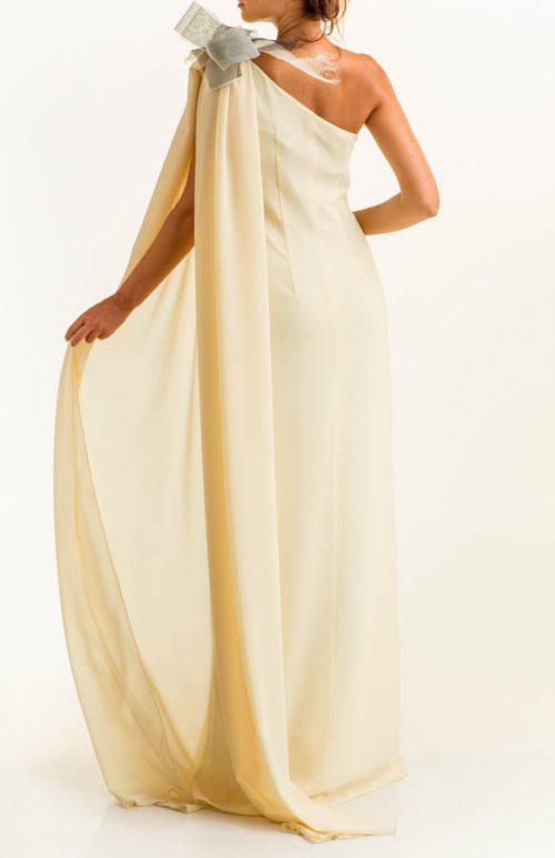 IMG 0087 Editar 500x773 - Vestido largo crepe vainilla