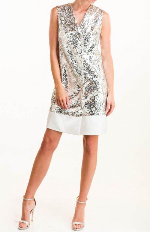 IMG 0301 Editar 500x773 - Vestido tipo chaqueta plata