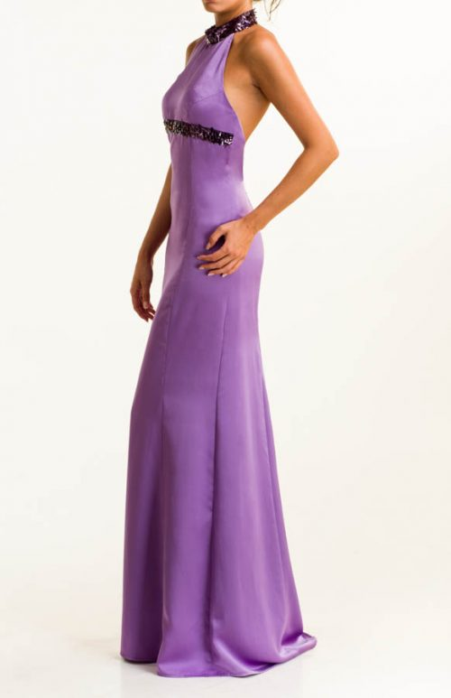 IMG 0352 Editar 500x773 - Purple long dress with sequins