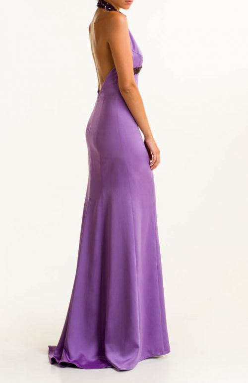 IMG 0364 Editar 500x773 - Purple long dress with sequins