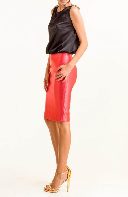 IMG 0446 Editar 500x773 - Vestido corto satén negro