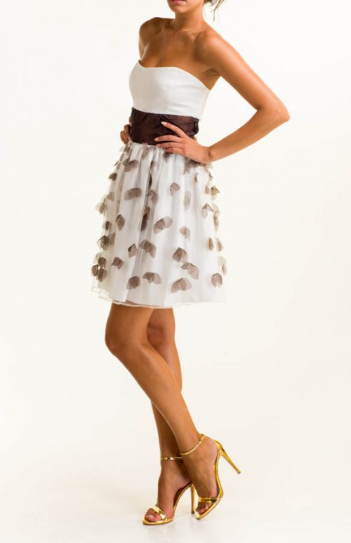 IMG 0578 Editar 500x773 - Vestido corto satén blanco