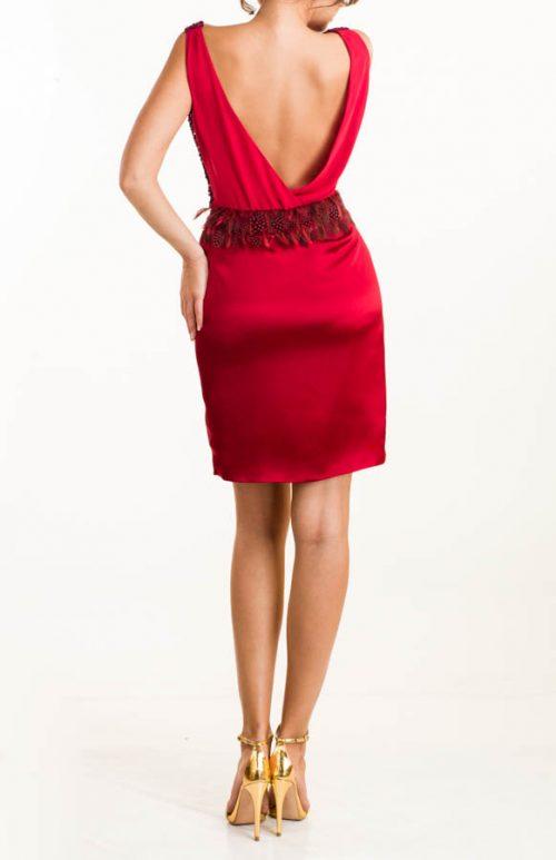 IMG 0587 Editar 500x773 - Vestido corto de lentejuelas burdeos