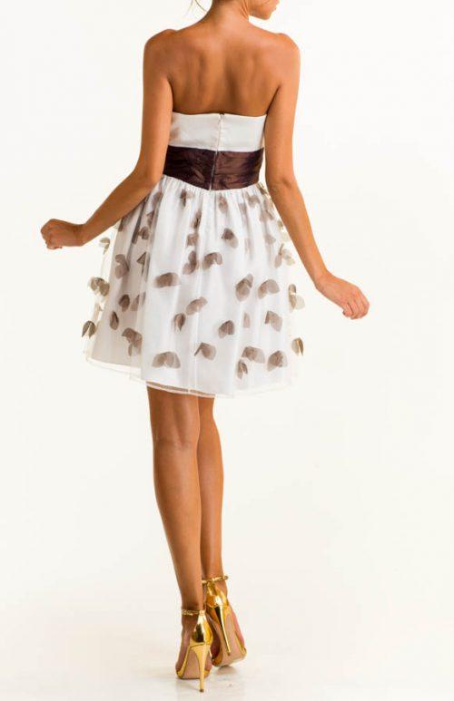 IMG 0591 Editar 500x773 - Vestido corto satén blanco