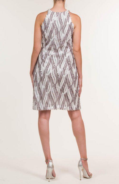 c 18 0345 001488 jb lb 18 1064 500x773 - Short dress in multicolored fabric