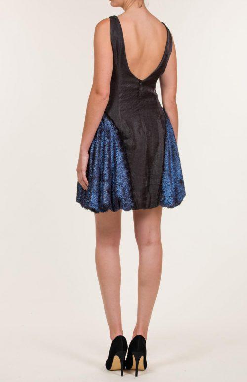 c 18 0345 001488 jb lb 18 1124 500x773 - Vestido corto negro con pelo sintético azul azur