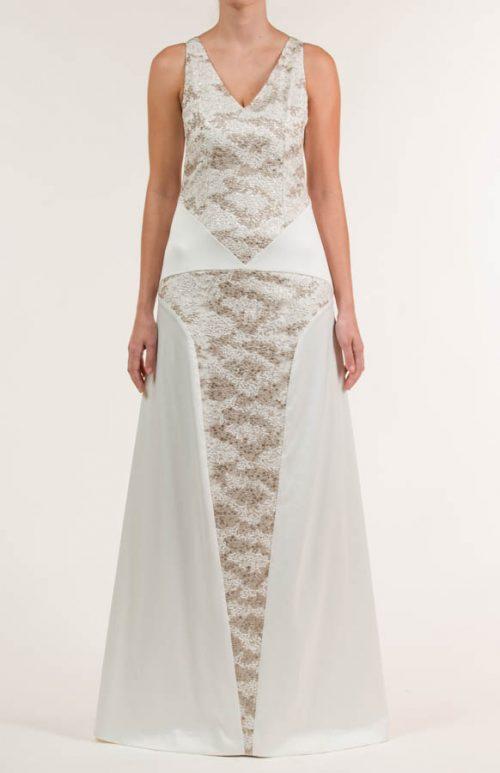 c 18 0345 001488 jb lb 18 2048 500x773 - Vestido de novia largo de satén crema y siena