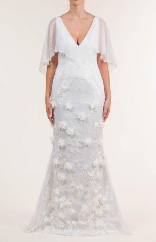 c 18 0345 001488 jb lb 18 2078 2 500x773 - Vestido de novia largo bordado y de satén