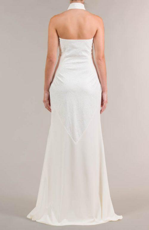 c 18 0345 001488 jb lb 18 2119 2 500x773 - Vestido de novia largo con tejido de flores crema