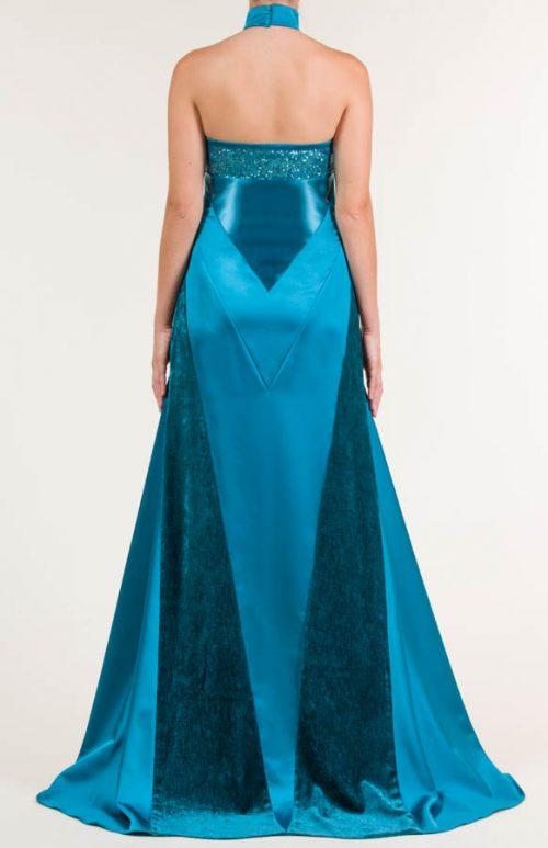 c 18 0345 001488 jb lb 18 2229 2 500x773 - Vestido largo azul Bondi con tejido satén, raso y terciopelo