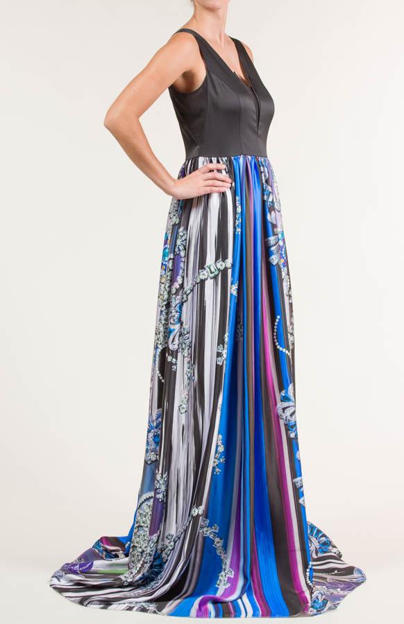 Vestido largo rayon