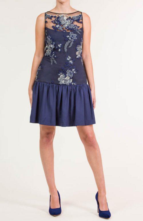 c 18 0345 001488 jb lb 18 2680 2 500x773 - Vestido corto bordado tul azul