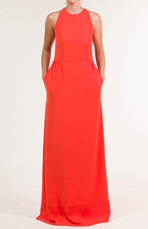 c 18 0345 001488 jb lb 18 2761 500x773 - Vestido largo crepe rojo escarlata