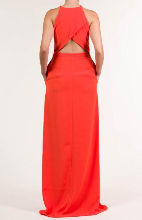 c 18 0345 001488 jb lb 18 2763 500x773 - Vestido largo crepe rojo escarlata
