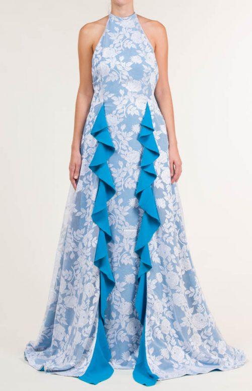 c 18 0345 001488 jb lb 18 2817 500x773 - Vestido largo de tejido de encaje con flores en azul