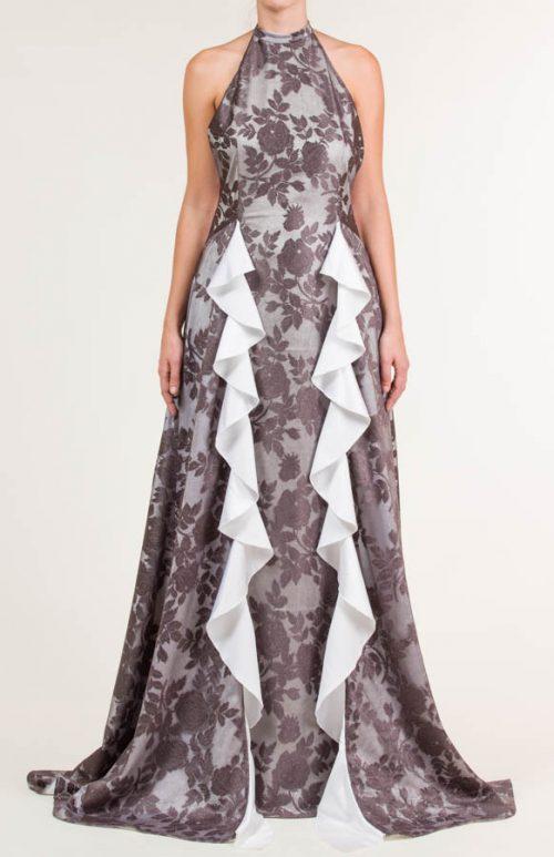 c 18 0345 001488 jb lb 18 2829 500x773 - Vestido largo con encaje de flores gris