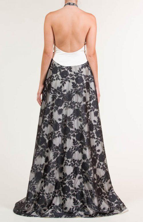 c 18 0345 001488 jb lb 18 2845 500x773 - Vestido largo con tejido de encaje de flores negro