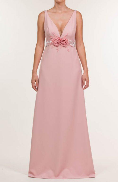 c 18 0345 001488 jb lb 18 292 500x773 - Vestido largo crepe mate rosa salmón