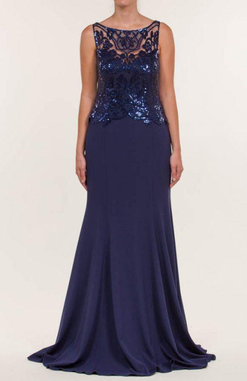 c 18 0345 001488 jb lb 18 886 500x773 - Vestido largo crepe azul marino