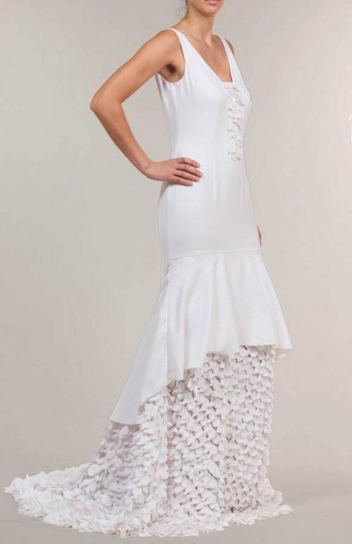 c 18 0345 001488 jb lb 18 952 2 500x773 - Vestido de novia largo crepe mate blanco