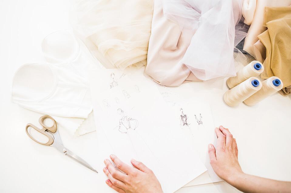 Tipos de telas usadas en Alta Costura por Javier Barrio