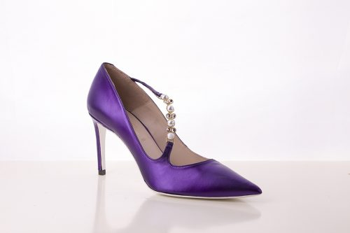 70A9557 500x333 - Purple courtroom shoe with applications