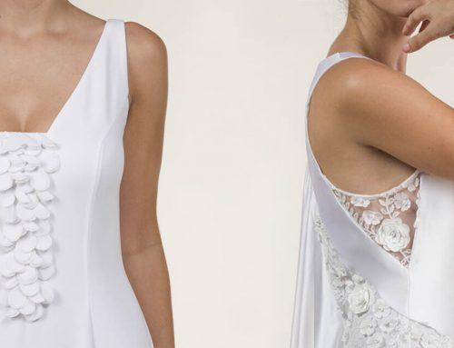 Tela crepé para vestidos de novia, un detalle muy especial