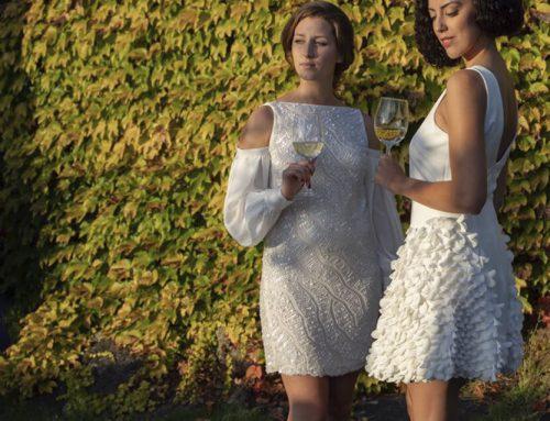 Los mejores vestidos cortos alta costura para tus eventos de día