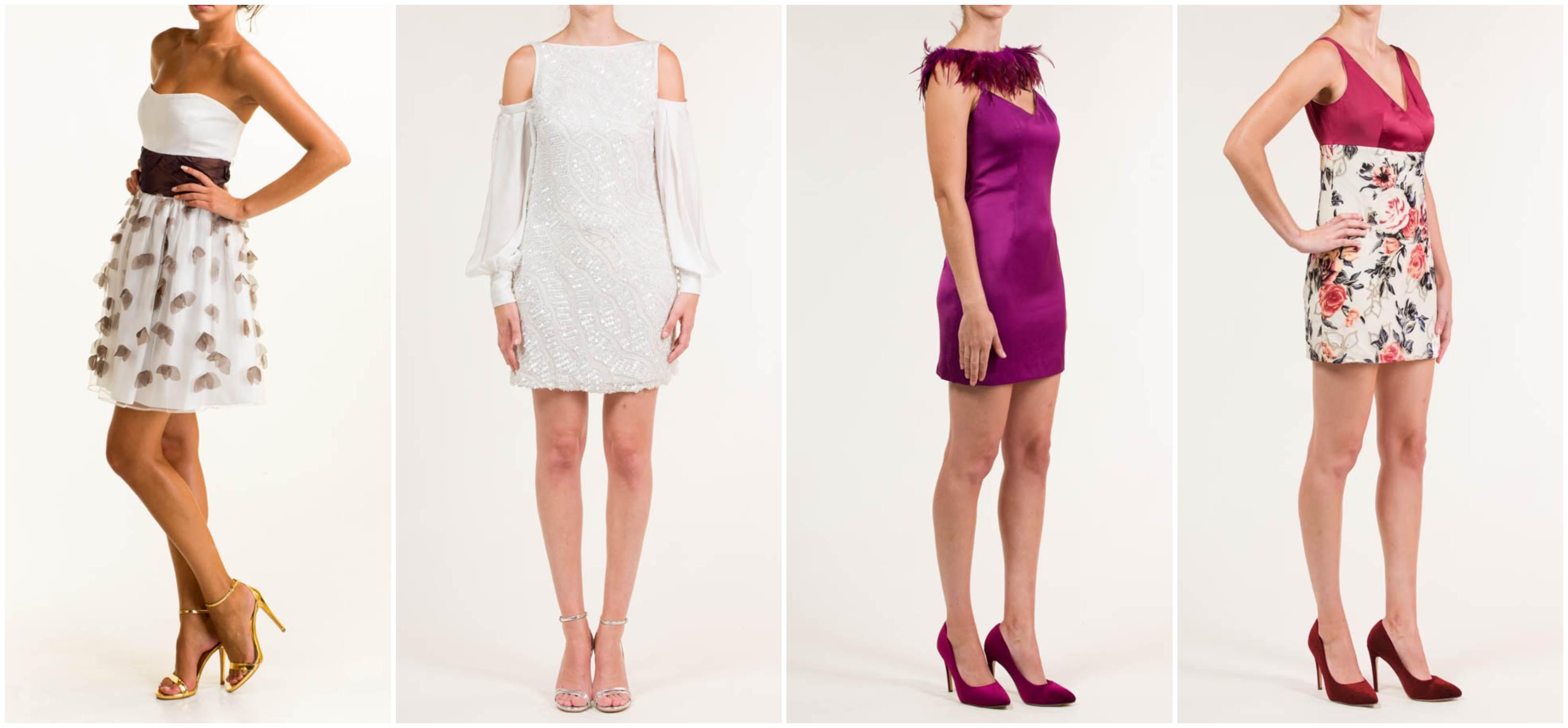 vestidos cortos alta costura javier barrio couture - Los mejores vestidos cortos alta costura para tus eventos de día